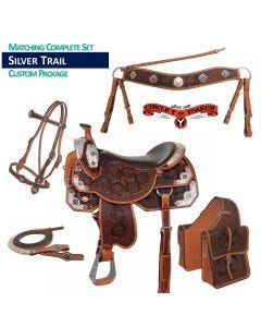 Custom Navajo Trail Saddle Package